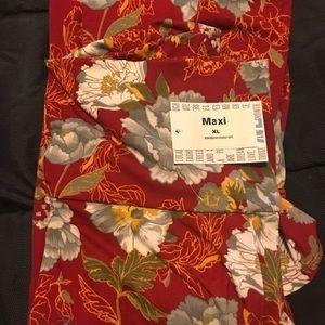Floral Maxi Skirt!!!